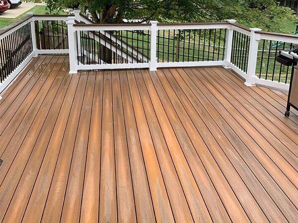 A beautiful deck